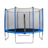 Trambulina ACTION® High Quality 396 cm cu plasa de protectie si scara