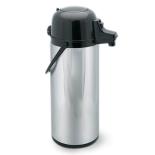 Termos din inox, cu pompa ,cu diametru de 13 cm si o capacitate de 1.9l