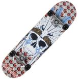 Skateboard Action ABEC-5, Aluminiu, 80 cm Shaman