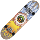 Skateboard Action ABEC-5, Aluminiu, 80 cm World Eye