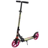 Trotineta Streetrunner® Jumbo 2 cu amortizor si cric, 200 mm, roti roz