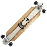 Longboard Land Surfer® Skate Boy bambus, ABEC-9, PU, Aluminiu, 100kg