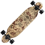 Longboard Action ONE® Devils Deck ABEC-9, Canadian Maple, 100 kg