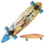 Longboard Action ONE® Light House ABEC-9, Canadian Maple, Aluminiu, 100 kg