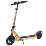 Trotineta electrica Action® Gravity, max. 25 km/h, motor 350 W, roti 8 inch, auriu