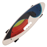 Penny board Action One® Portabil ABEC-7, PU, Aluminiu, Color Wave