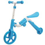 Trotineta Action One® 2 in 1 (trotineta/bicicleta), Albastru