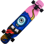 Longboard Action One®, ABEC-7, PU, Aluminiu, 100kg Blue Devil