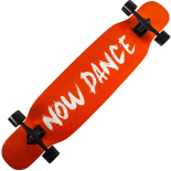 Longboard Action One®, ABEC-7, PU, Aluminiu, 100kg Now Dance
