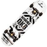 Skateboard Action One ABEC-11, Aluminiu, 79 cm, Scratch