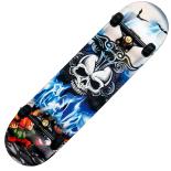 Skateboard Action One ABEC-11, Aluminiu, 79 cm, After World