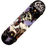 Skateboard Action One ABEC-11, Aluminiu, 79 cm, Kiss of Death