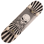 Skateboard Action One® ABEC-7, Aluminiu, 79 cm Optical Skull