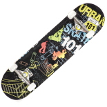 Skateboard Action One ABEC-7, Aluminiu, 79 x 20 cm, multicolor, Urban 101