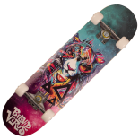 Skateboard Action One ABEC-7, Aluminiu, 79 x 20 cm, multicolor, Beloved