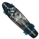 Penny Board Action One®, 22, PU, Aluminium, 90 KG Jump Up Wave Wheels