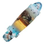 Penny Board Action One®, cu roti luminoase, 22, PU, Aluminium, 90 KG Summer