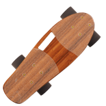Penny board Action One® Portabil, PU, ABEC-9, Bambus, Cruiser
