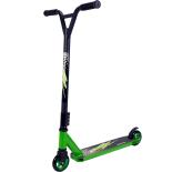 Trotineta Action One® Extreme, roti aluminiu, Green