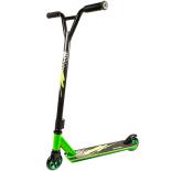 Trotineta Action One® Slick, roti aluminiu, verde