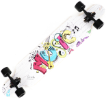 Longboard Action One, ABEC-7, PU, Aluminiu, 100kg, 105.5 x 22 cm, multicolor, Music