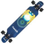 Longboard Action One, ABEC-7, PU, Aluminiu, 100kg, 105.5 x 22 cm, multicolor, Freestyle