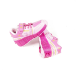 Pantofi sport cu roti si LED-uri Roz Marimea 36 King Sport