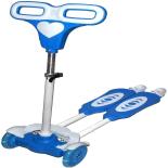 Trotineta Action One, deplasare prin balans, Speedy, albastra