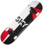 Skateboard Action One ABEC-7, Aluminiu, 80 x 20 cm, negru, Aero