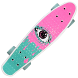 Penny Board Action One 22, ABEC-7, PU, Aluminium truck, Pink Eye