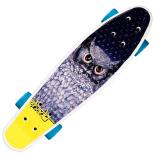 Penny Board Action One cu roti luminoase 22, ABEC-7, PU, Aluminium truck, Blue Owl